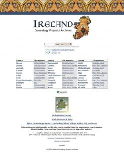 Ireland Genealogy Projects