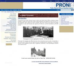 Ulster Covenant Search
